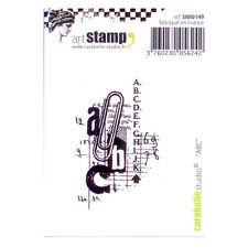 Carabelle Studio SMI0149 Cling Stamp - ABC