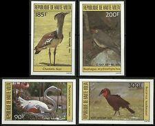 Haute Volta Oiseaux Calao Hornbill Birds Vögel Non Dentele Imperfs Proofs **1984