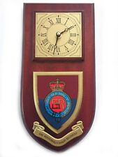 Household Cavalry Military Shield Wall Plaque Clock