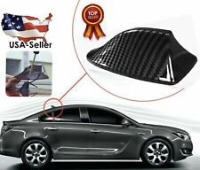 Universal Car Carbon Fiber Roof Shark Fin Aerial FM/AM RV Radio Signal Antenna
