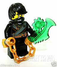 Lego Ninjago Ninja Cole Rebooted with Weapon split from 70720 Brand New Genuine