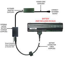 External Laptop Battery Charger for HP Pavilion DV6-1000, CQ60, CQ70, 485041-001