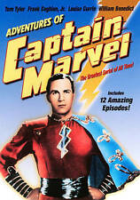 Adventures of Captain Marvel (DVD, 2016)-superhero-shazam-billy batson-serial