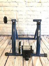 Mag Trainer, Magnetic Indoor Bike Trainer, Blue, Foldable, Graber, Excellent