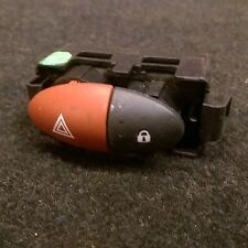 RENAULT TWINGO HAZARD AND CENTRAL LOCKING SWITCH BUTTON TOGGLE 6 PIN 2007