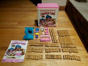 Lincoln Logs Little Prairie Farmhouse with Box & Instructions Complete