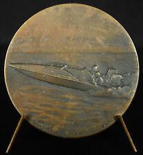 Médaille course de bateau 2 heures de Valence Boat race Drôme Contaux sc medal