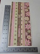SANDYLION KELLY PANACCI ALL ABOUT ME BORDERS STICKERS SCRAPBOOKING NEW A2586