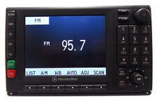 MERCEDES-BENZ OEM Radio Tape Cassette Player Navigation LCD Display Screen