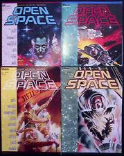 OPEN SPACE 1,2,3,4...NM-..1989...Sci-Fi...Bill Wray,Ken Meyer,etc...HTF Bargain!
