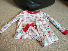 Baby girls butterfly pajama set 12-18 months