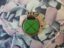 Royal Navy HMS ARROW Enamel Lapel Badge