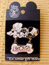 *102 Dalmatians Disney Collector Pin* 2003 on Velvet backed display card MINT!