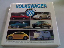VOLKSWAGEN CHRONICLE (HARDCOVER) W/ DUST JACKET