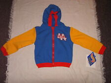 Nascar Kyle Petty #44 Toddler Hot Wheels Hoodie Jacket Sz 3T NWT