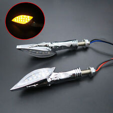 Skull LED Turn Signal light Indicator Motorcycle Crusier Bobber Custom Chopper