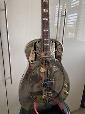 More details for ozark 3515bte thinline biscuit electric resonator guitar