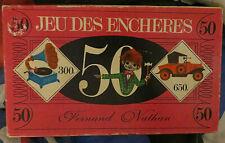 Le Jeu des enchères, Fernand Nathan - Cavahel Vintage