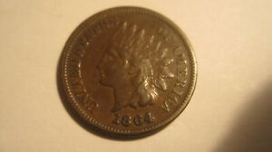 1864 L indian cent  looks choice extra fine with sharp L