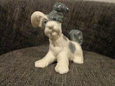 "Vintage Lladro Figurine 4643 ""Skye Terrier"" Poodle Puppy Retired 1985"