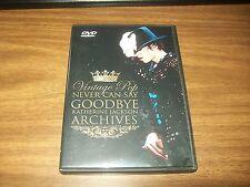 MICHAEL JACKSON VINTAGE POP NEVER CAN SAY GOODBYE DVD KATHERINE JACKSON ARCHIVES