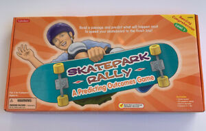 Lakeshore Learning Game SKATEPARK RALLY A PREDICTING OUTCOME READING COMP. LVL 1