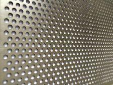 Günstiges ALU Lochblech Aluminium 2mm RV 5-8 1000x500x2mm Alu Al99,5 Zuschnitte