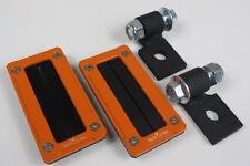 Polaris RZR Xp 1000 / RZR 900 Billet Harness Bezel & Mounting Kit (Orange)