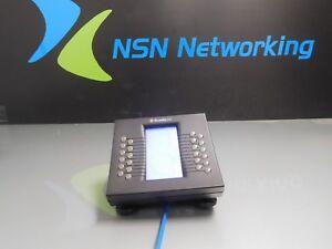 ShoreTel 24 Shorephone SBB BB24 24-Button Black Phone Expansion Module w/ Base