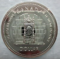 CANADA 1977 SPECIMEN COMMEMORATIVE SILVER DOLLAR COIN