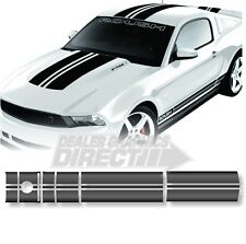 2010 - 2012 FORD MUSTANG EXCLUSIVE STAGE 1 ROUSH STYLE RACING STRIPES