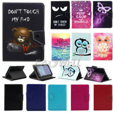 "Universal Leather Case Cover Skin For Samsung Galaxy Tab 2/3/4 7"" 8"" 10.1""Tablet"
