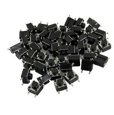 50Pcs 6x6x5mm 4 Pins SMD SMT Momentary Push Button Tact Tactile Switches M