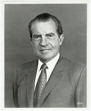 RARE VINTAGE POLITICS IMPEACH: Richard M. Nixon Signed Letter and Halsman Photo