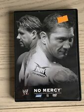WWE NO MERCY 2005 DVD WWF WRESTLING EDDIE GUERRERO THE UNDERTAKER BATISTA ORTON