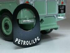 Land Rover Serie 2 3 INSTRUMENTOS LUCAS Conmutador Gasolina LPG placa pegatina