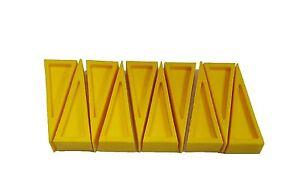 LINE2design Door Stopper Rubber Door Stop Wedge Door Open Sprinkler Wedge - 10PK
