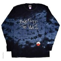 New PINK FLOYD The Wall Long Sleeve Tie Dye T Shirt