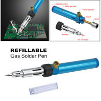 Cordless Butane Gas Blow Torch Soldering Iron Gun Welding Pen Repair Tool 1300℃