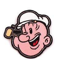 Popeye The Sailor Man Iron-On Patch 3 1/2 x 3 1/2 Free Ship Licensed PCH-POP0801