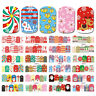 Nail Stickers Decals Transfers Christmas Decorations Snowflakes  (BN673-684)