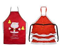 Christmas Chef's Apron Funny Santa XMAS Cooking Holiday BBQ Party Home Gift