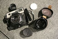 WORKING! Koni-Omega Rapid w/ Konica Hexanon 58mm, 90mm, viewfinder GOOD cond.