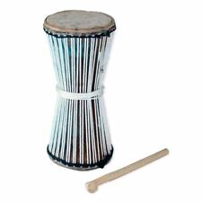 """African Talking Drum - 10""""  Traditional Music Instrument For Good Music Pleasure"""