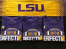 3 Pack of LSU Perfection 2020 Championship Game T-Shirts Size S new items