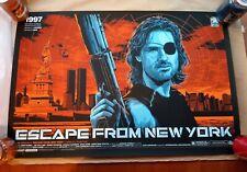 Very Rare Mondo - Ken Taylor - Escape From New York Print AP - Artist Proof #/52