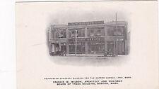 Reinforced Concrete Building, Oxford Garage, Lynn, Massachusetts, 1900s