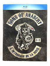 Coffret Blu Ray Sons of Anarchy L'INTEGRALE De La Série / Saison 1 2 3 4 5 6 7 a