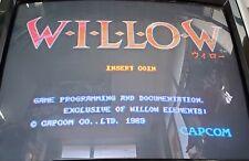 Willow Cps Pcb Arcade Video Game Capcom 1989