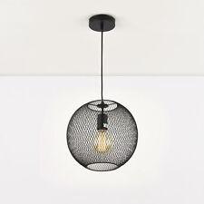 Wohnzimmer Deckenlampe Hängeleuchte Drahtkugel MASSIVE LxBxH 35,5x35,5x120 cm